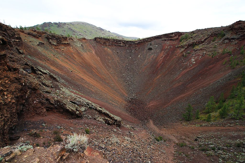 Mongolia volcano