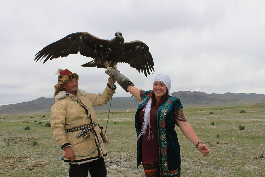 Eagle Hunter in Mongolia with Alissa