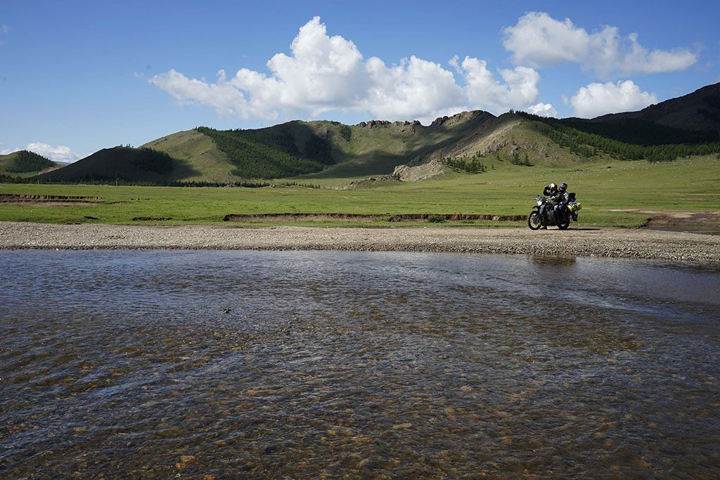 Water crossings in Mongolia