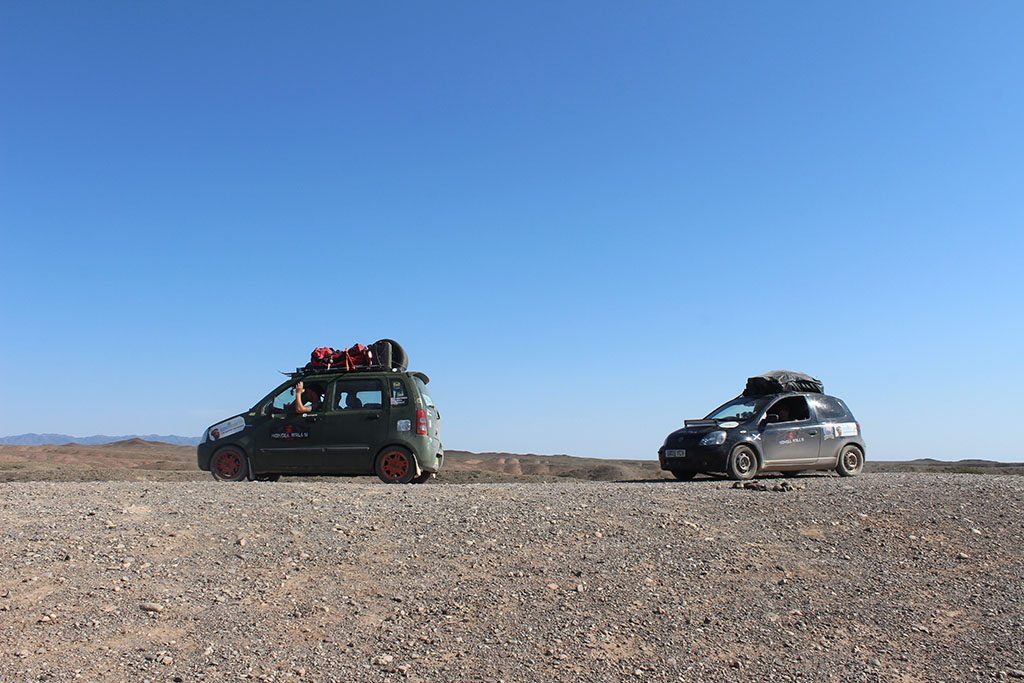 Mongol Rally in Mongolia