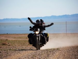 Pillion travel around the world