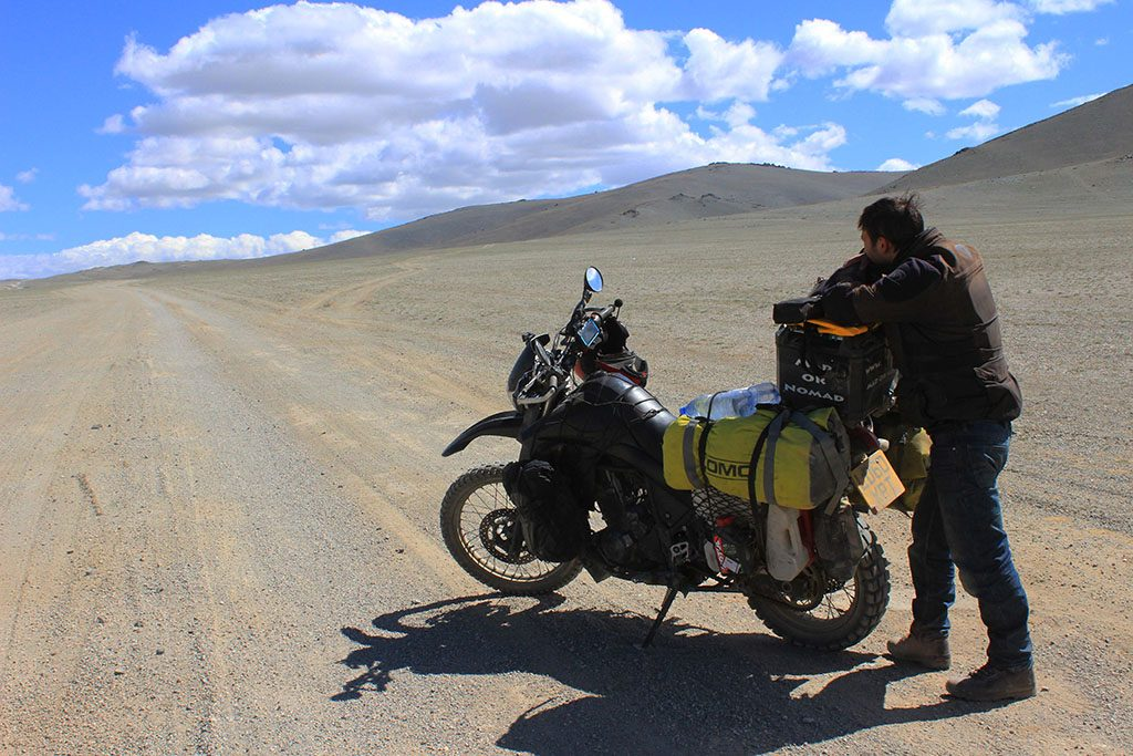 Adventure Motorcycle Travel in Mongolia