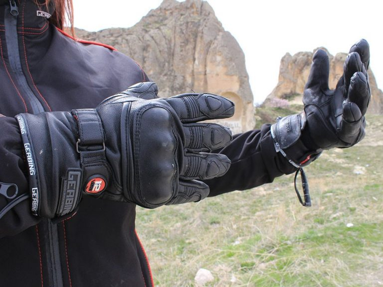 Gerbing heated motorcycle gloves review