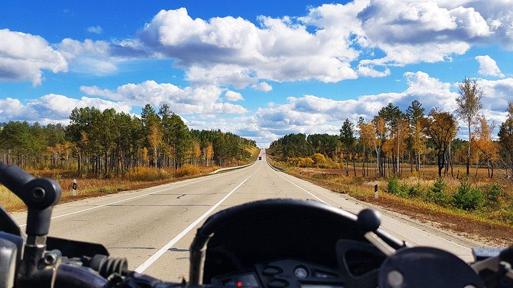 motorcycling through Siberia