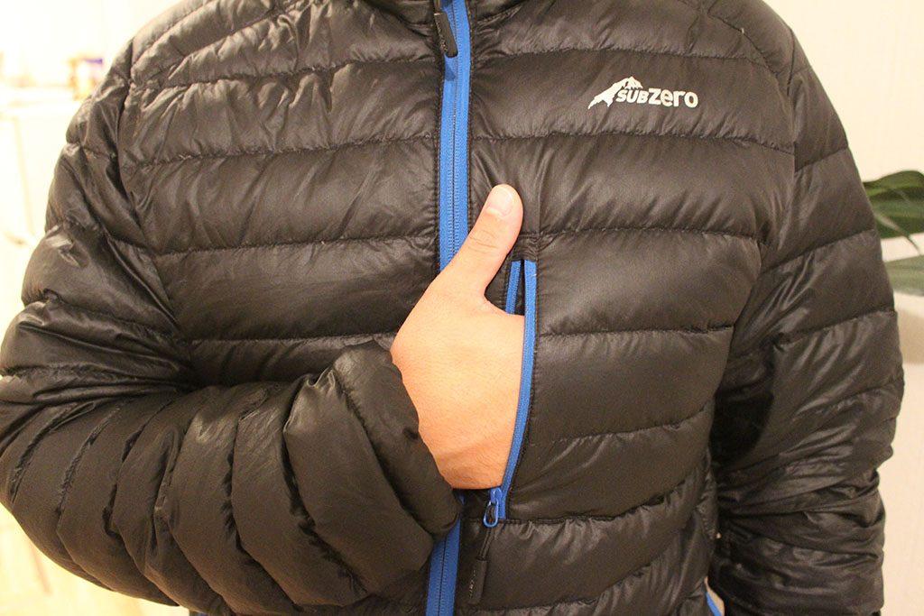 Sub Zero thermal down jacket review
