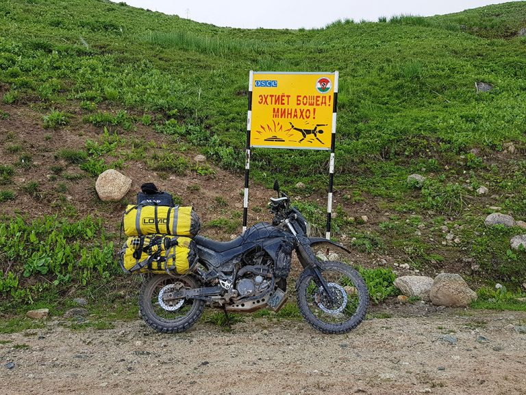 Motorcycle travel in Tajikistan