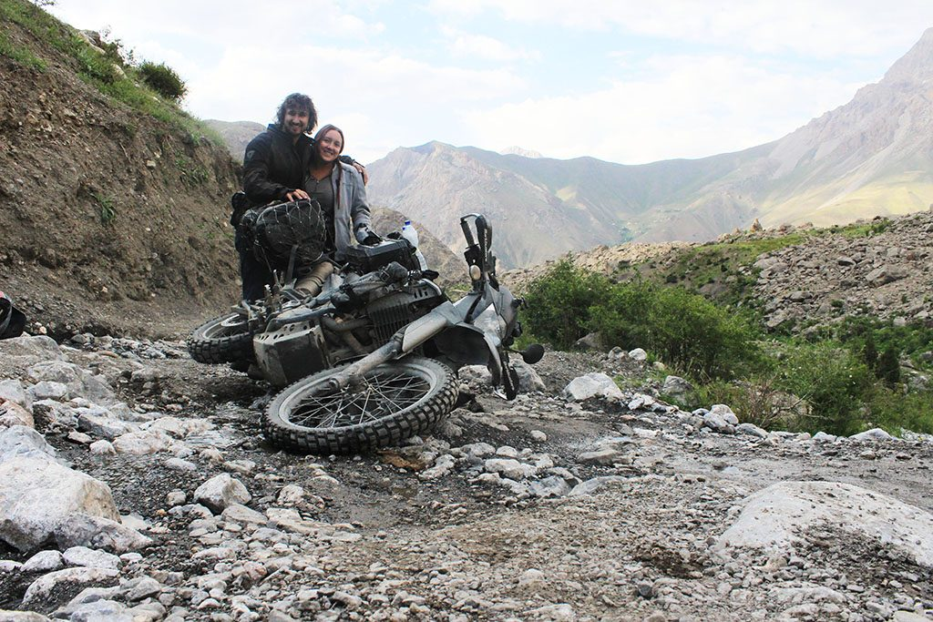road conditions in the Pamirs aren't so bad
