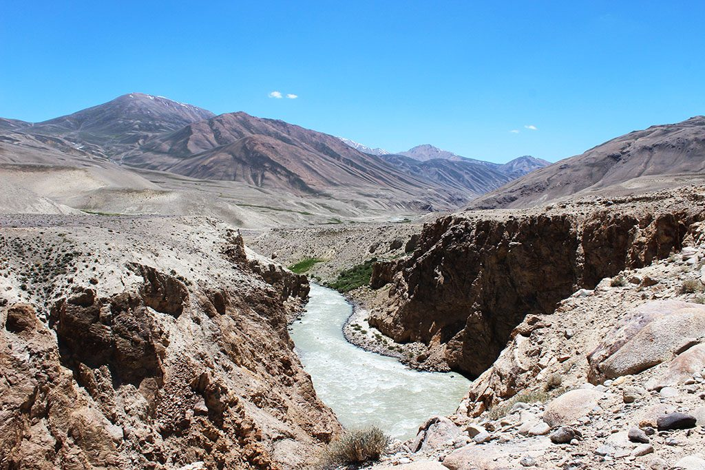 Motorcycling in the the Wakhan Corridor