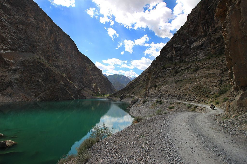 Adventure Motorcycling in the Pamir Mountains of Tajikistan