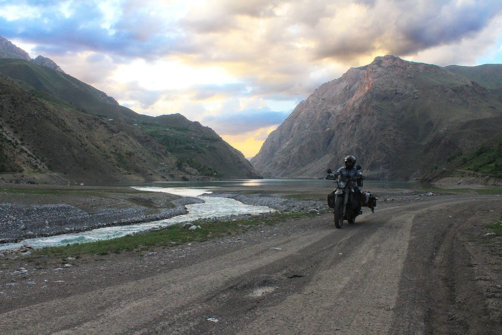 Adventure biking in the Pamir Mountains of Tajikistan