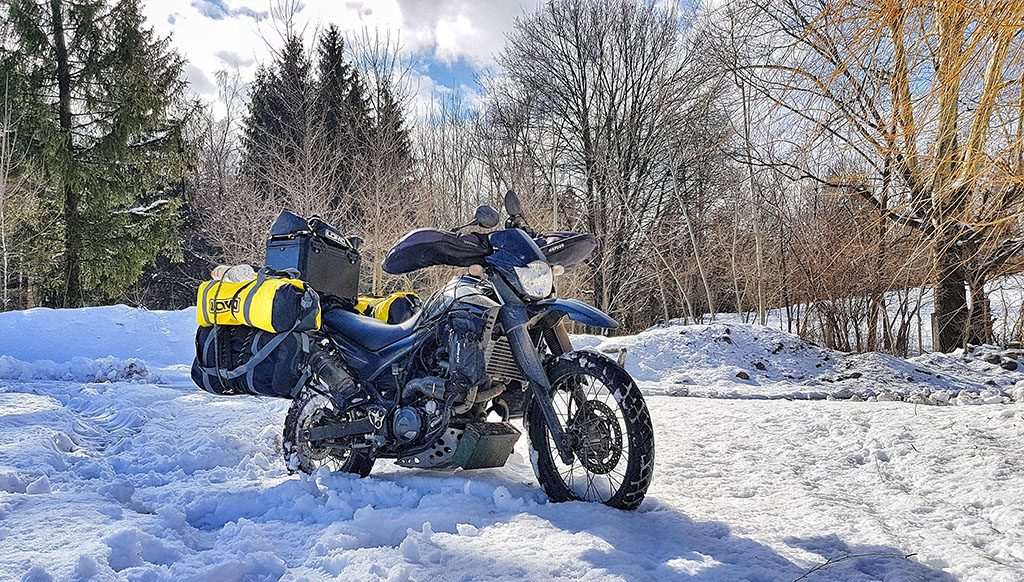 How to pack an adventure bike