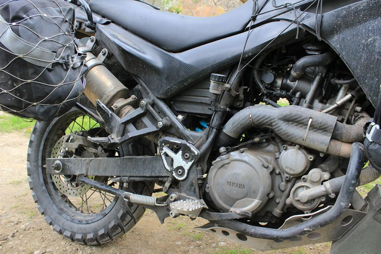 Prepare a motorcycle for round the world