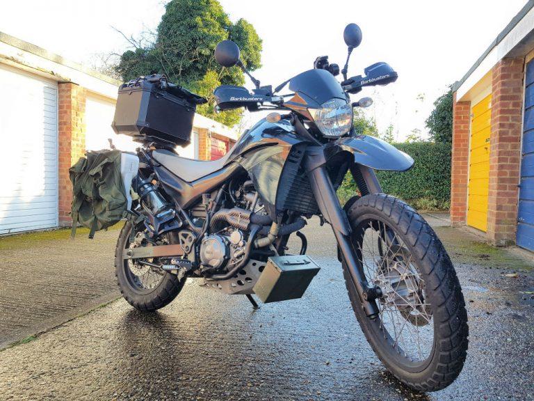 DIY motorbike tool luggage