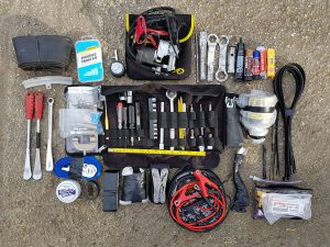 Ultimate adventure bike tool kit