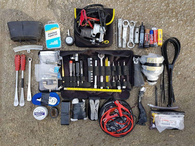 Ultimate adventure bike tool kit