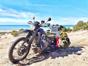 Motorcycle adventure travel