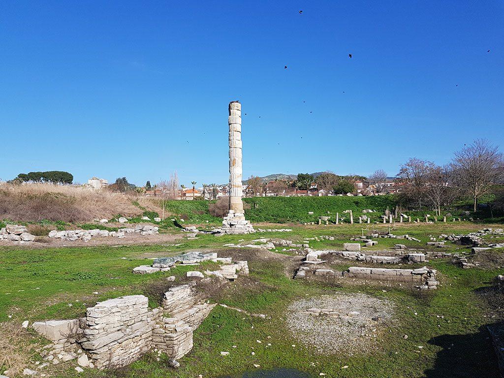 Ephesus last remaining temple