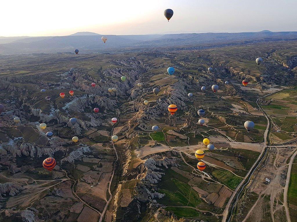 Hot air balloon guide for Cappadocia