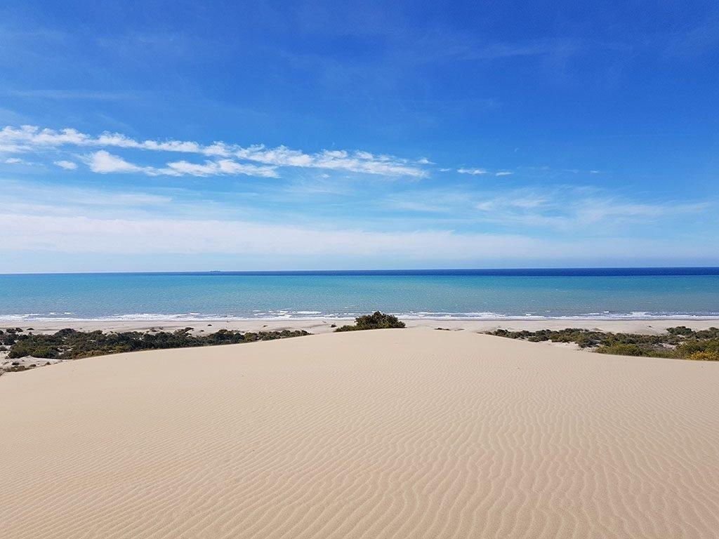 Sand dunes in Turkey