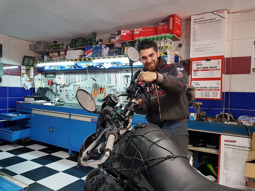 Turkish mechanic