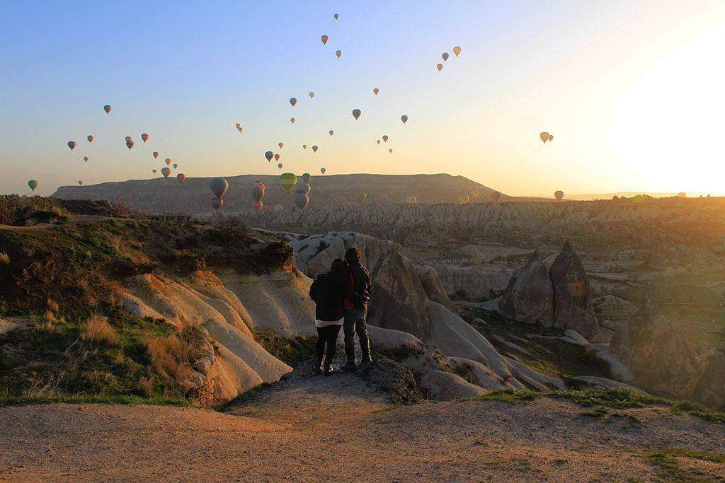 Hot air balloons in Cappadocia guide