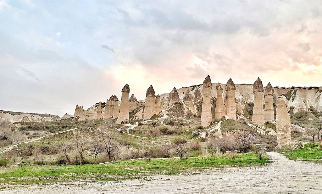 Love Valley hike guide in Cappadocia