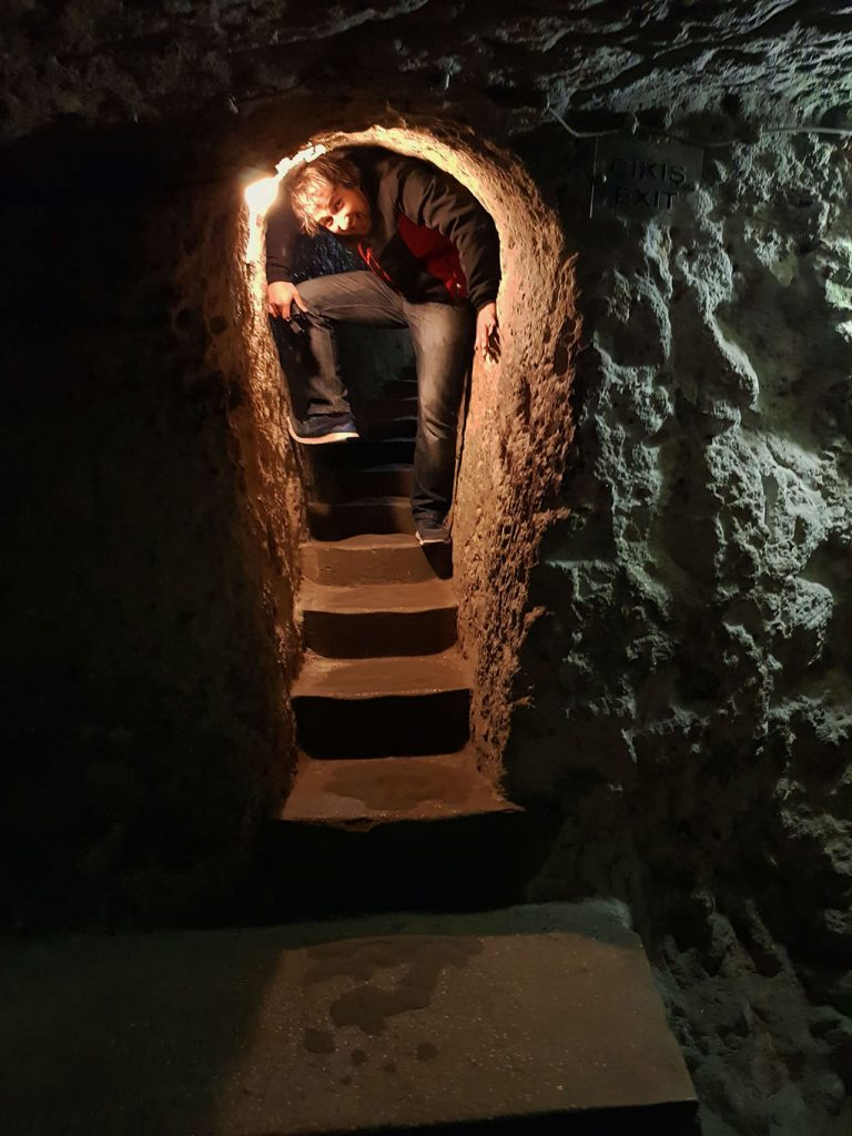 Guide to underground cities in Cappadocia