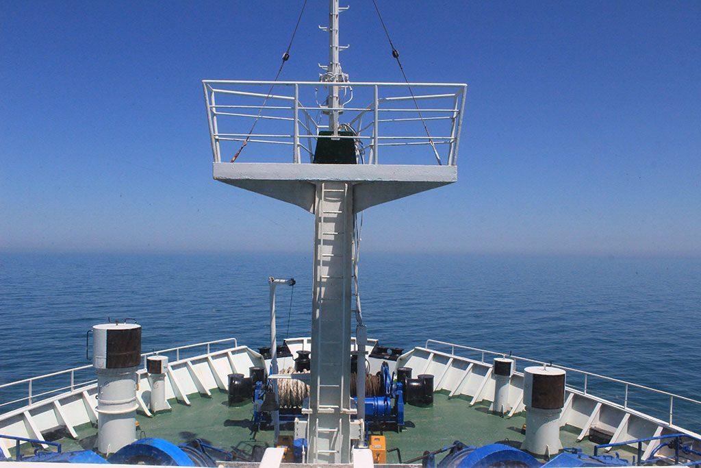 Crossing the Caspian Sea ferry