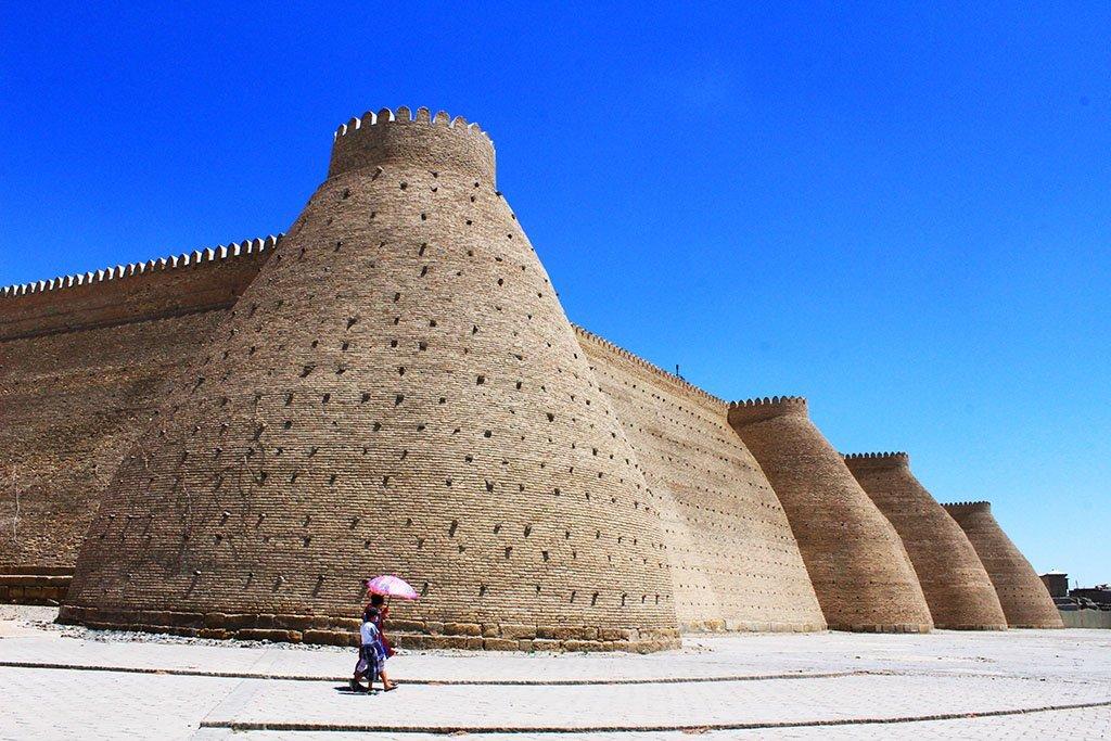 Ark of Bukhara Uzbekistan