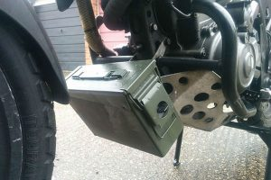 DIY Motorcycle tool box