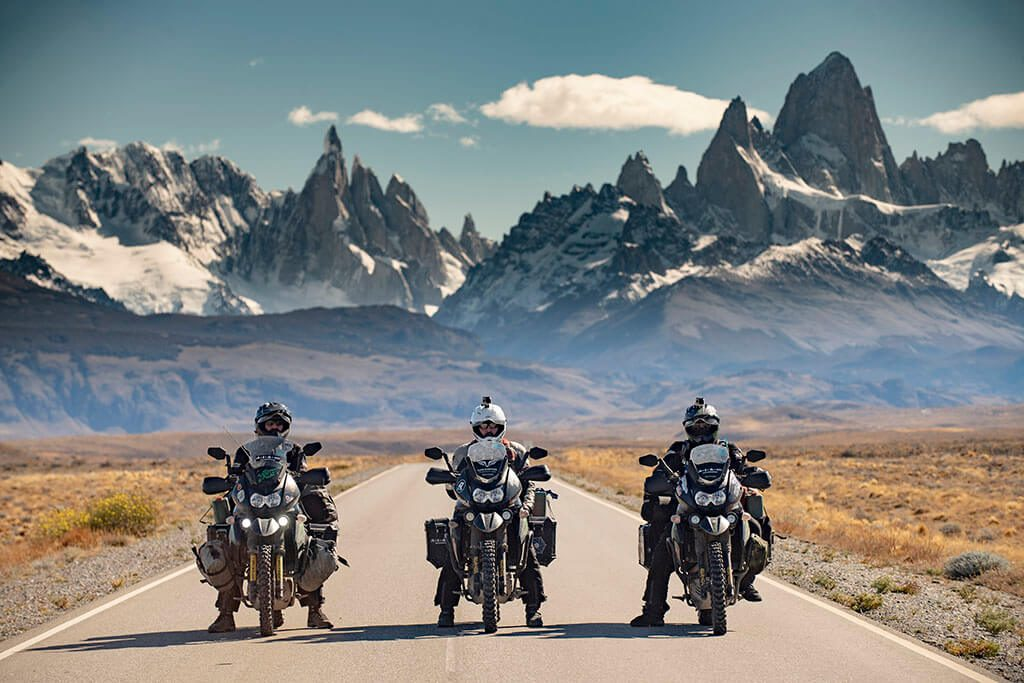 Motorcycle travel in South America