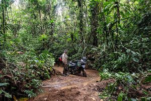 Darien Gap motorcycle