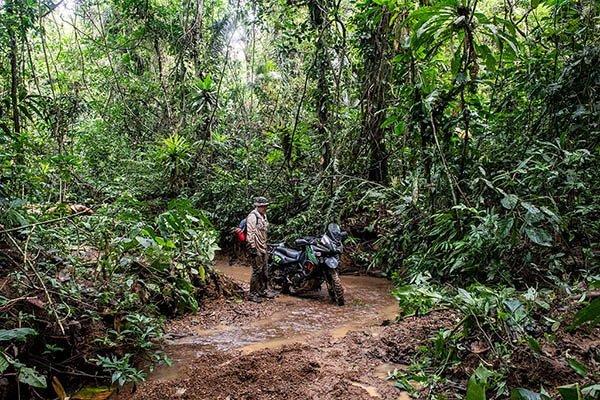 Darien Gap motorcycle