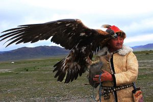 How to find an eagle hunter in Mongolialia