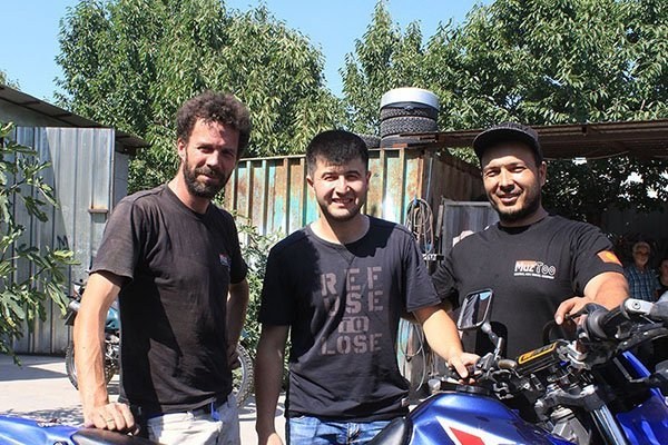 MuzToo Motorcycle rental in Kyrgyzstan