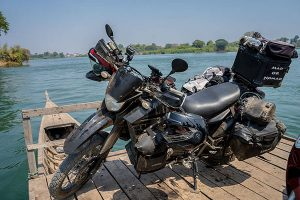 Motorcycle Adventure Travel Laos
