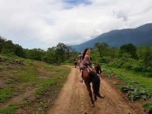 Horse riding in Armenia Dilijan