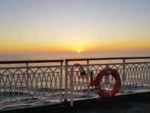 How to cross the caspian sea by ferry