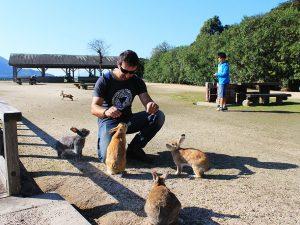 Visit Rabbit Island Japan