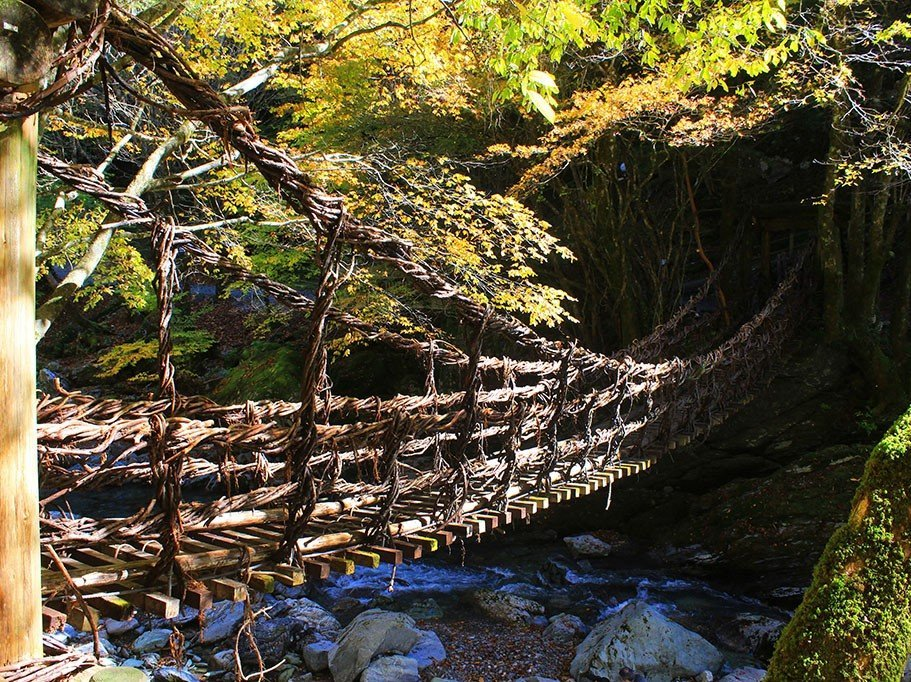 How to visit Japan's stunning Vine Bridges