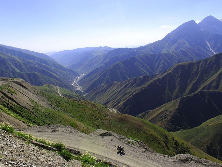 Motorcycle travel in Kyrgyzstan