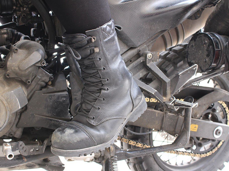 Merlin Combat motorcycle boots review