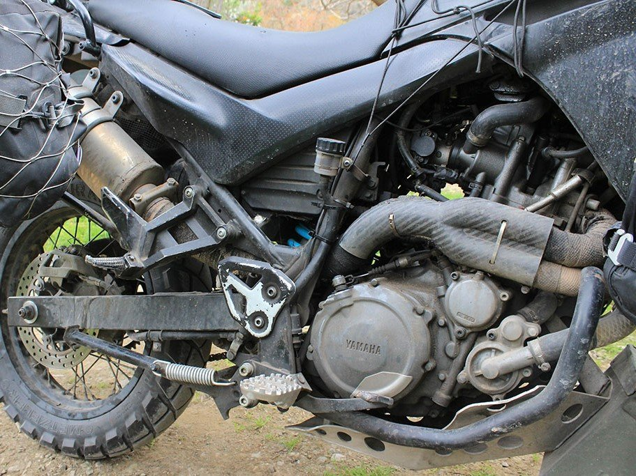 Metal Mule 2-into-1 exhaust system for XT660R – £400