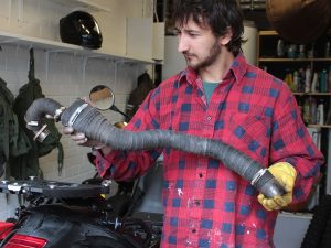 How to heat wrap motorcycle exhaust