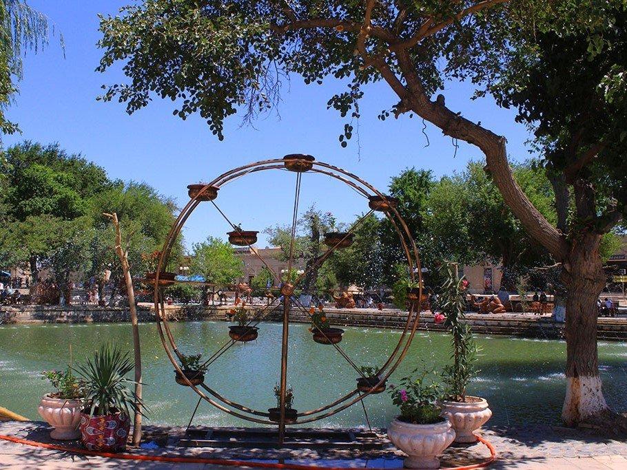 Top sights in Uzbekistan