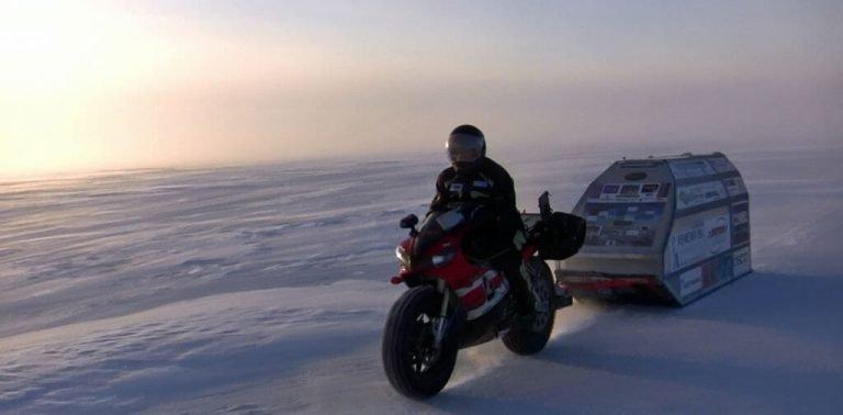 Sjaak Lucassen North Pole Yamaha R1