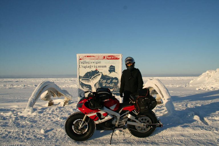 Sjaak Lucassen North Pole Yamaha R1