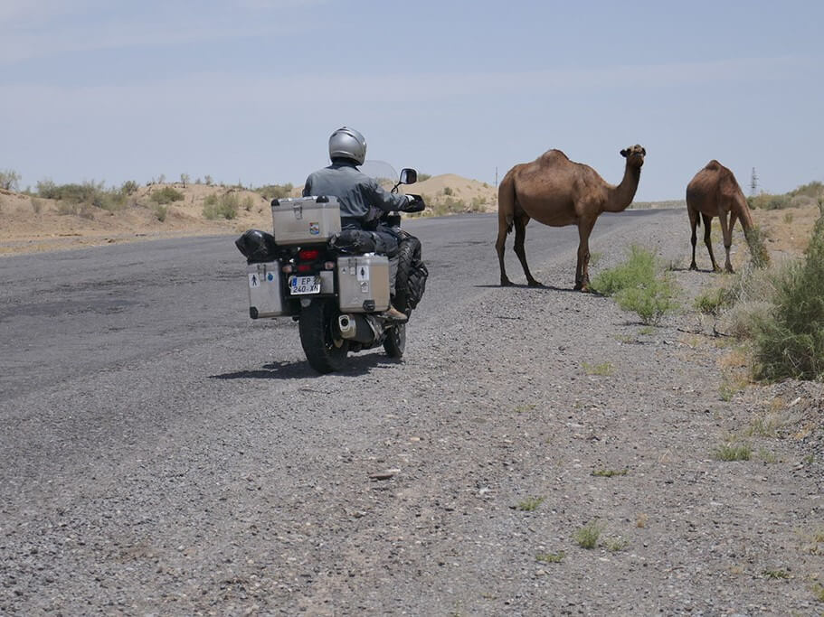 Motorcycling in Turkmenistan