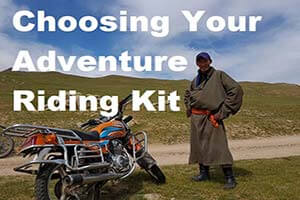 Adventure riding kit sidebar