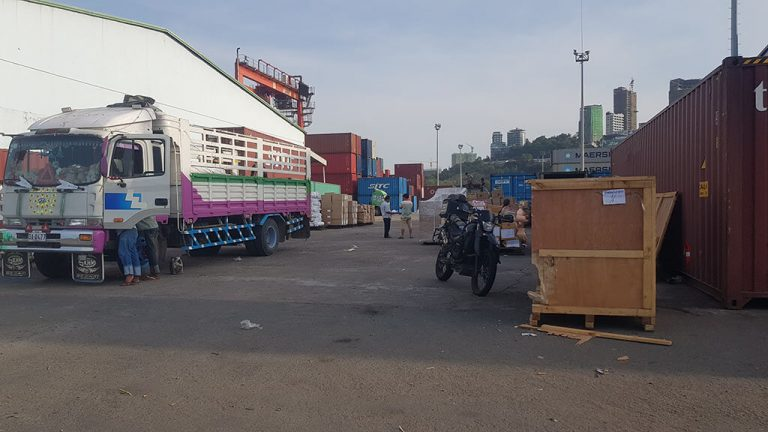 Shipping motorcycle to Cambodia